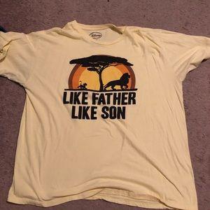 Lion king- like father, like son t-shirt